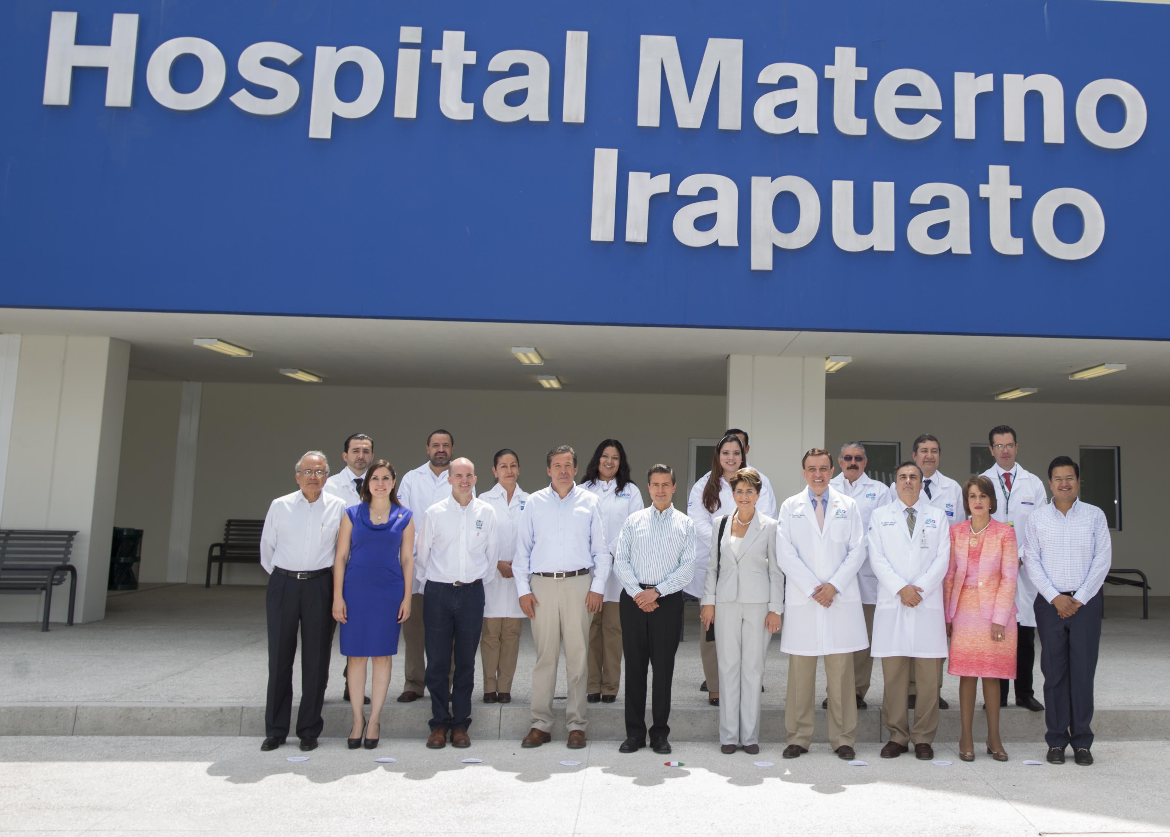 Inauguraci n del hospital materno infantil de irapuato - Hospital materno infantil la paz ...