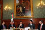 Small reunin con los once ministros de la suprema corte de justicia de la nacin 8347797565 o