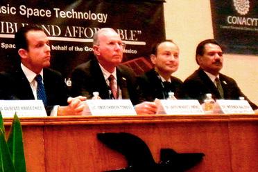 Presenta SCT avances de los satélites Centenario y Morelos 3 en Foro Internacional de la ONU
