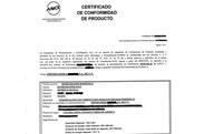 Small certificado