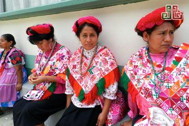 Mujeres indigenas.