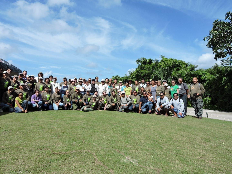 En el marco de la Semana Nacional por la Conservaci n que organiza la Comisi n Nacional de  reas Naturales Protegidas  y con la participaci n de m s de 200 personasjpg