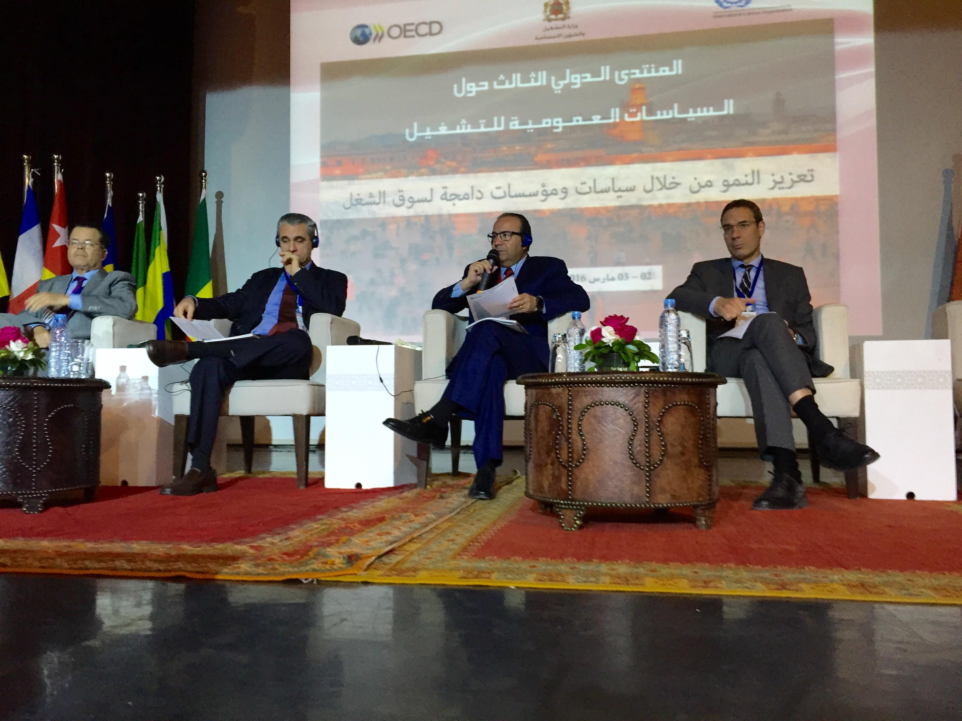 Foro Internacional de Pol ticas P blicas de Empleo Marruecos 1jpg