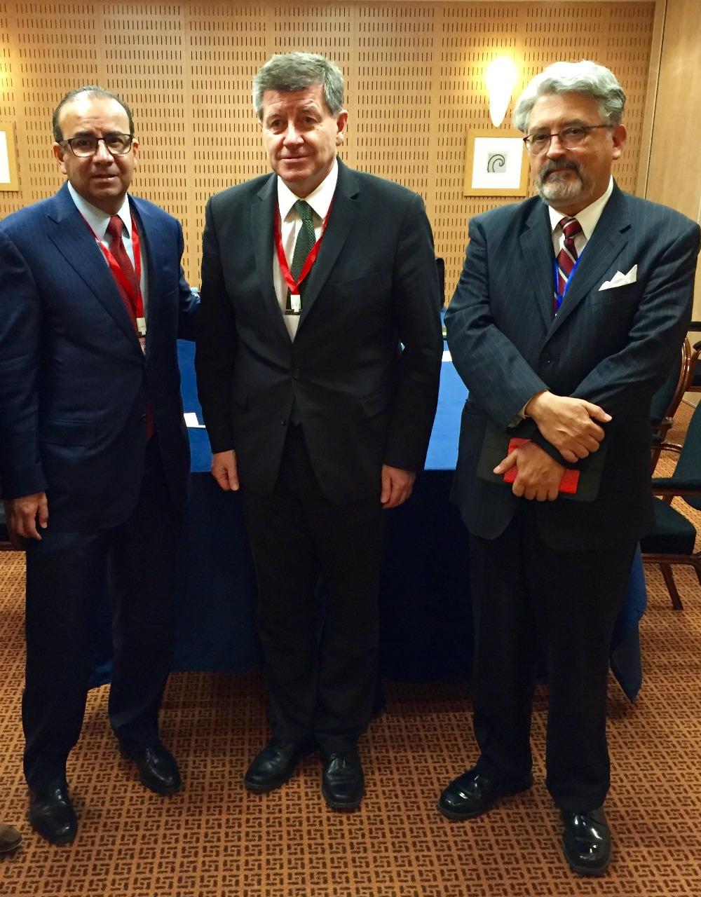 Reunion del Secretario del Trabajo y Prevision Social Alfonso Navarrete Prida con el Director General de la Organizaci n Internacional del Trabajo Guy Ryder 2jpg