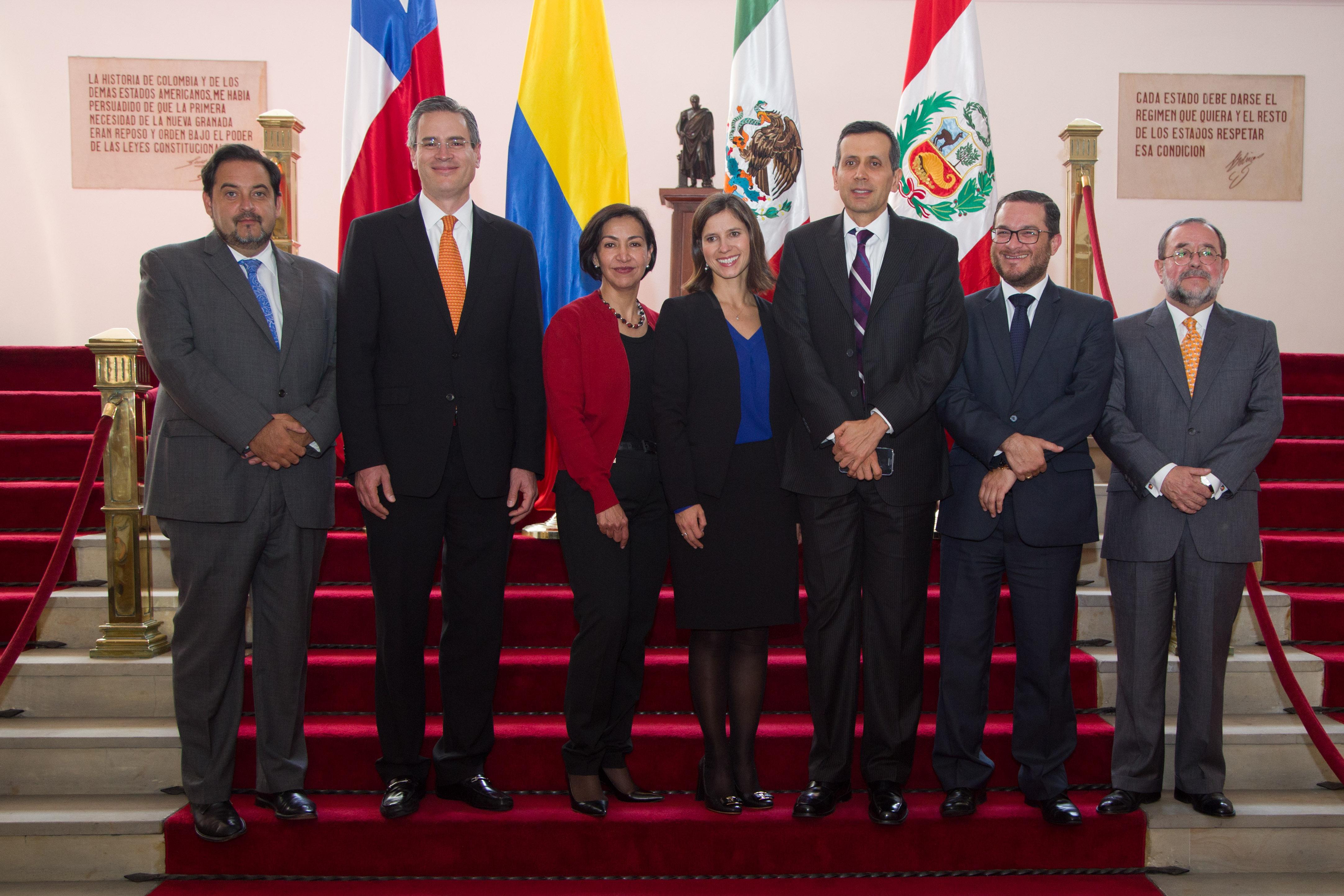 FOTO 1 Se realiz  en Bogot  la XXXIII reuni n de Viceministros de la Alianza del Pac ficojpg