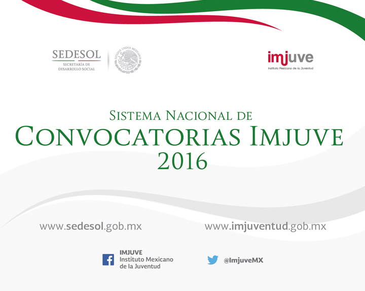 Convocatorias imjuve 2016 comisi n nacional para el for Convocatorias para profesores 2016