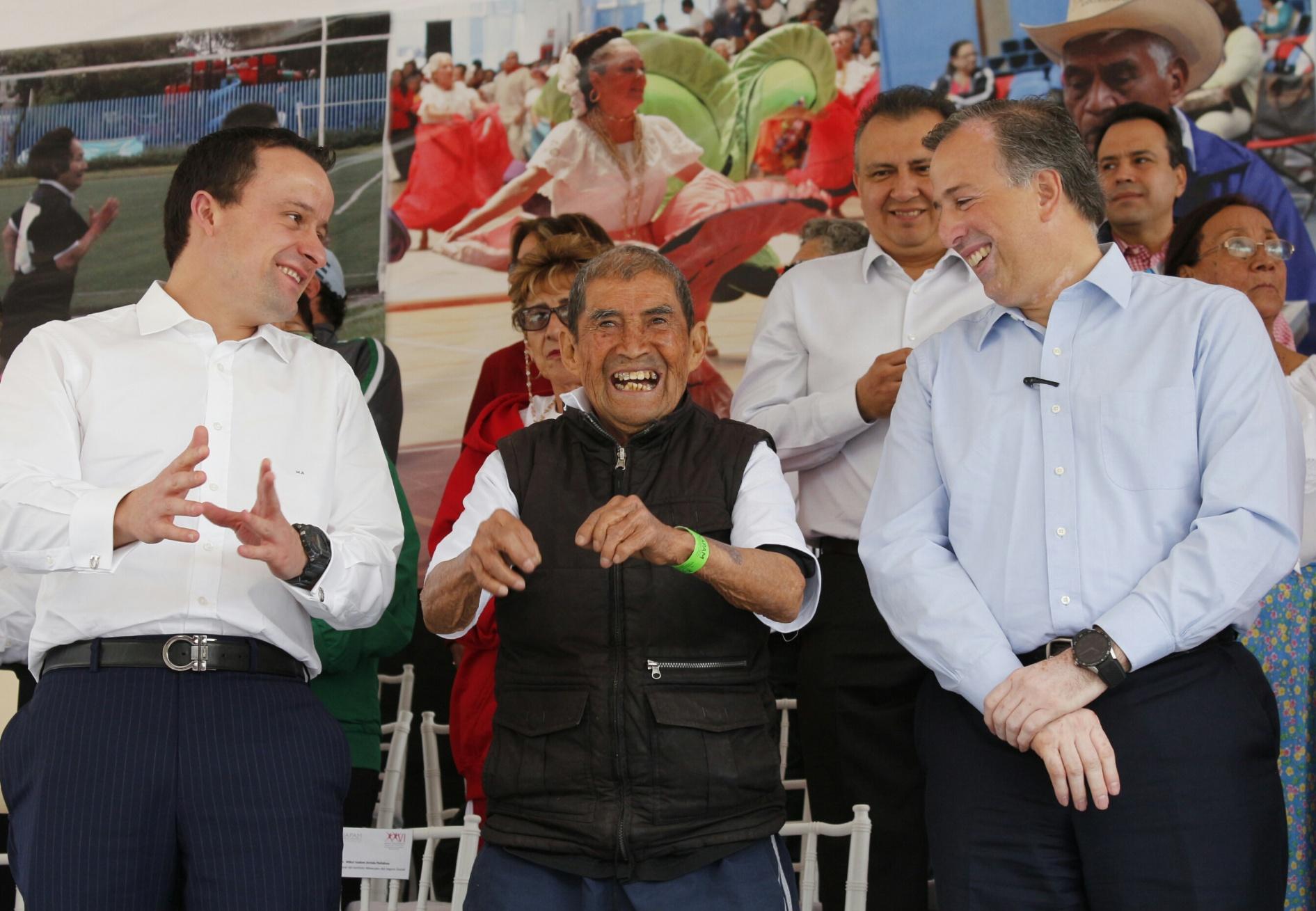 FOTO 2 Inauguraci n de los XXVI Juegos Nacionales Deportivos y Culturales de las Personas Adultas Mayoresjpg