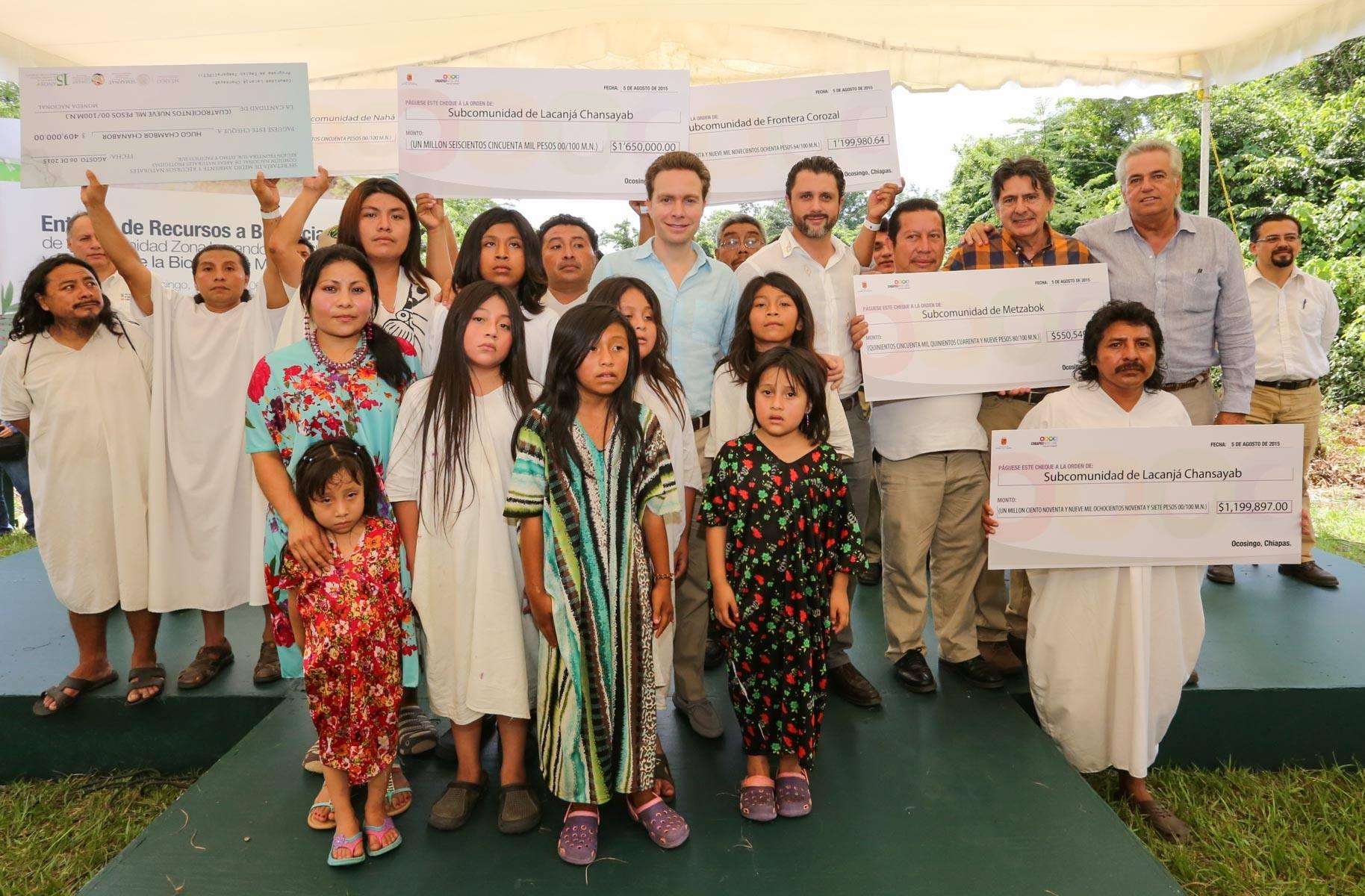 El titular de la CONANP sostuvo que Chiapas es un estado li der en biodiversidad  ma s de un millo n 500 mil hecta reas son A reas Naturales Protegidas. Foto Icoso.jpg
