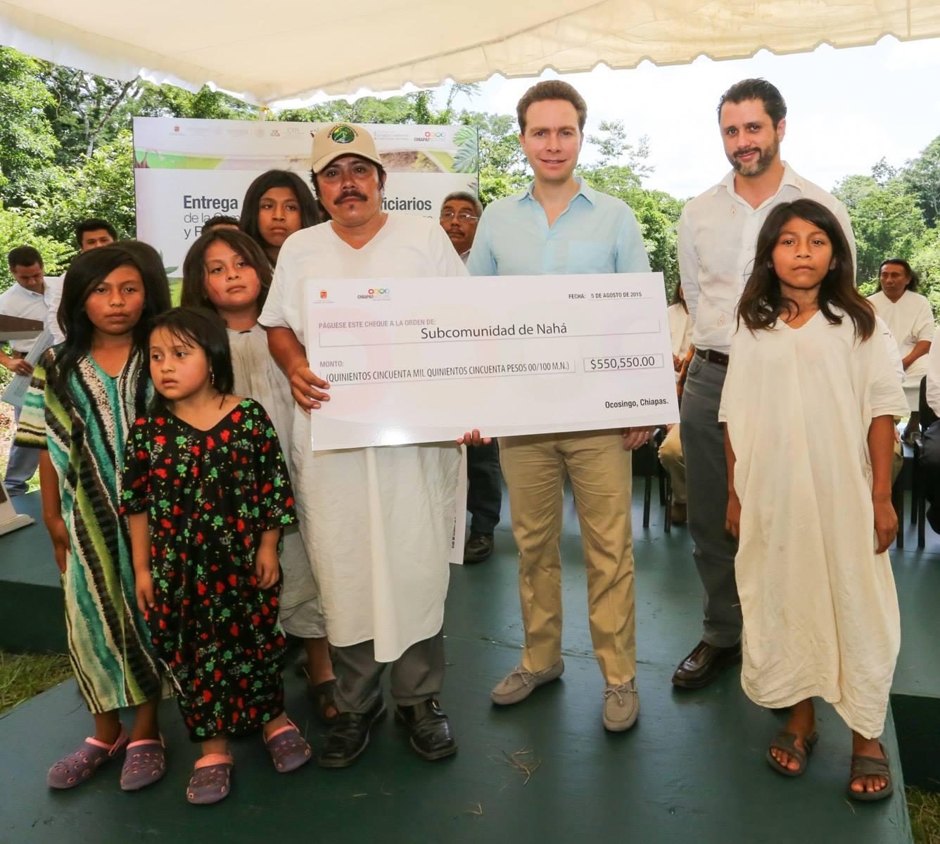 Se entregaron recursos por ma s de 6 millones  de pesos para actividades de conservacio n y restauracio n. Foto Icoso.jpg