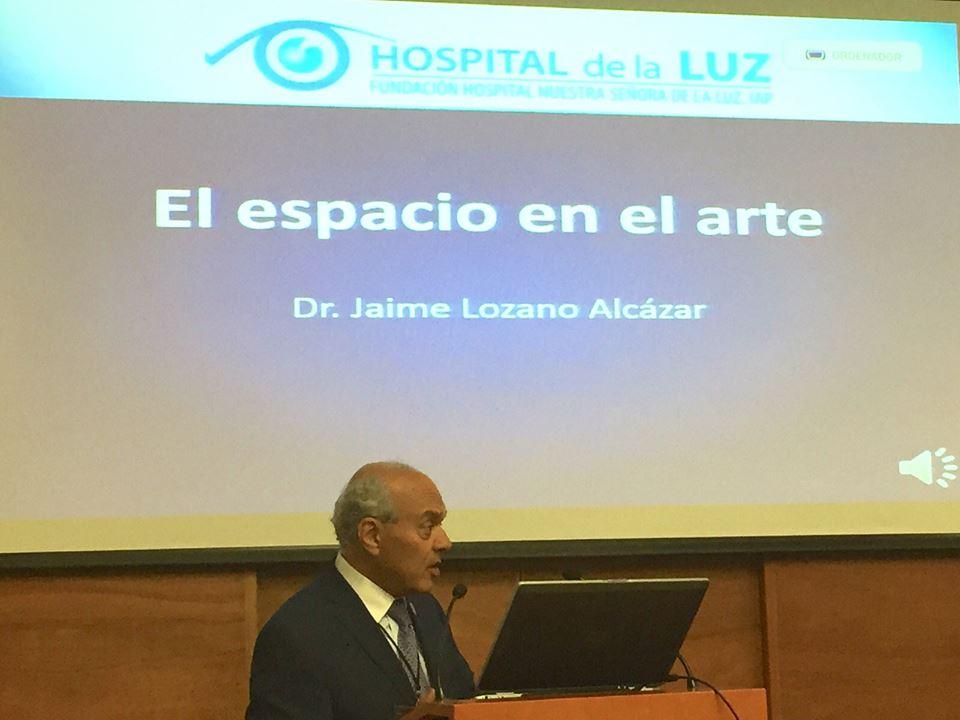#1CMME en este momento, El Espacio visto a través del Arte por Doctor Jaime Lozano http://transmisiones.uaslp.mx/tvlive.html
