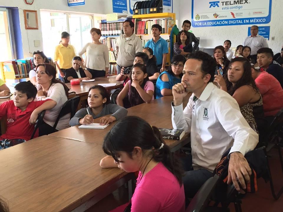 Se participo en actividades de campo y en aula — en Córdoba (Veracruz).