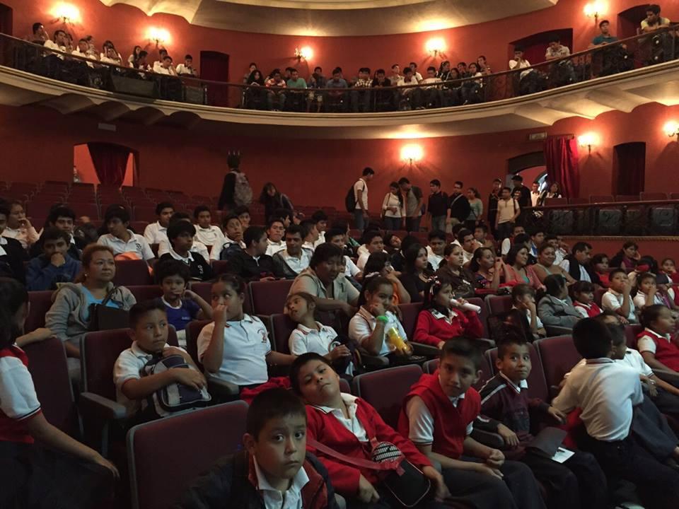 Participación de la comunidad estudiantil de Cordoba, Veracruz — en Córdoba (Veracruz).
