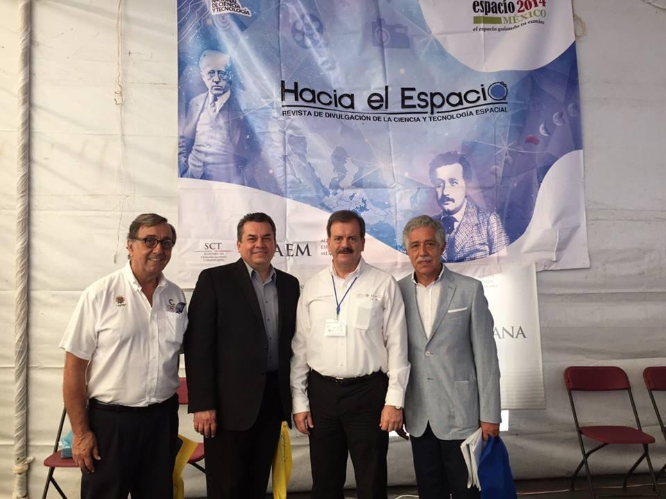 Ceremonia de Inauguración de la Feria de la Ciencias 2015 — en Córdoba (Veracruz).