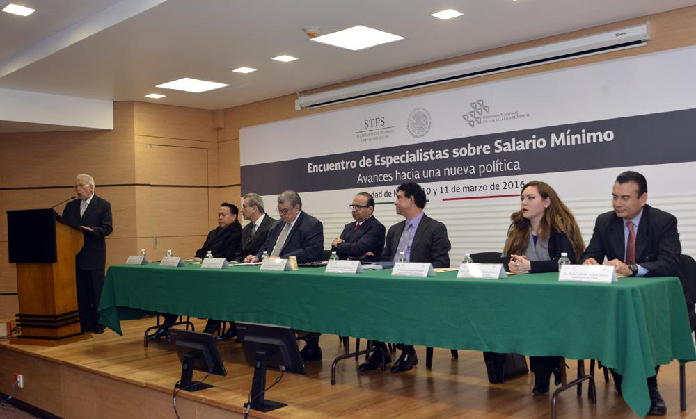 Encuentro de Especialistas sobre Salarios Minimos Avances hacia una nueva politica 2jpg