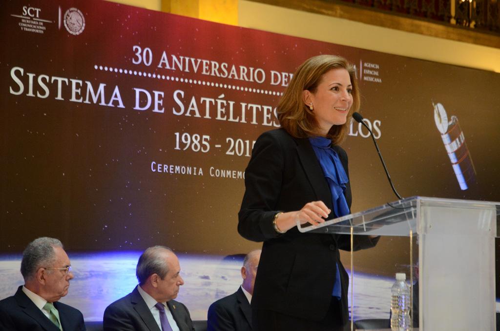 Mónica Aspe Bernal,  Subsecretaria de Comunicaciones.