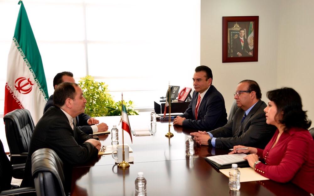 Reunion con Embajador de Iran foto 2jpg