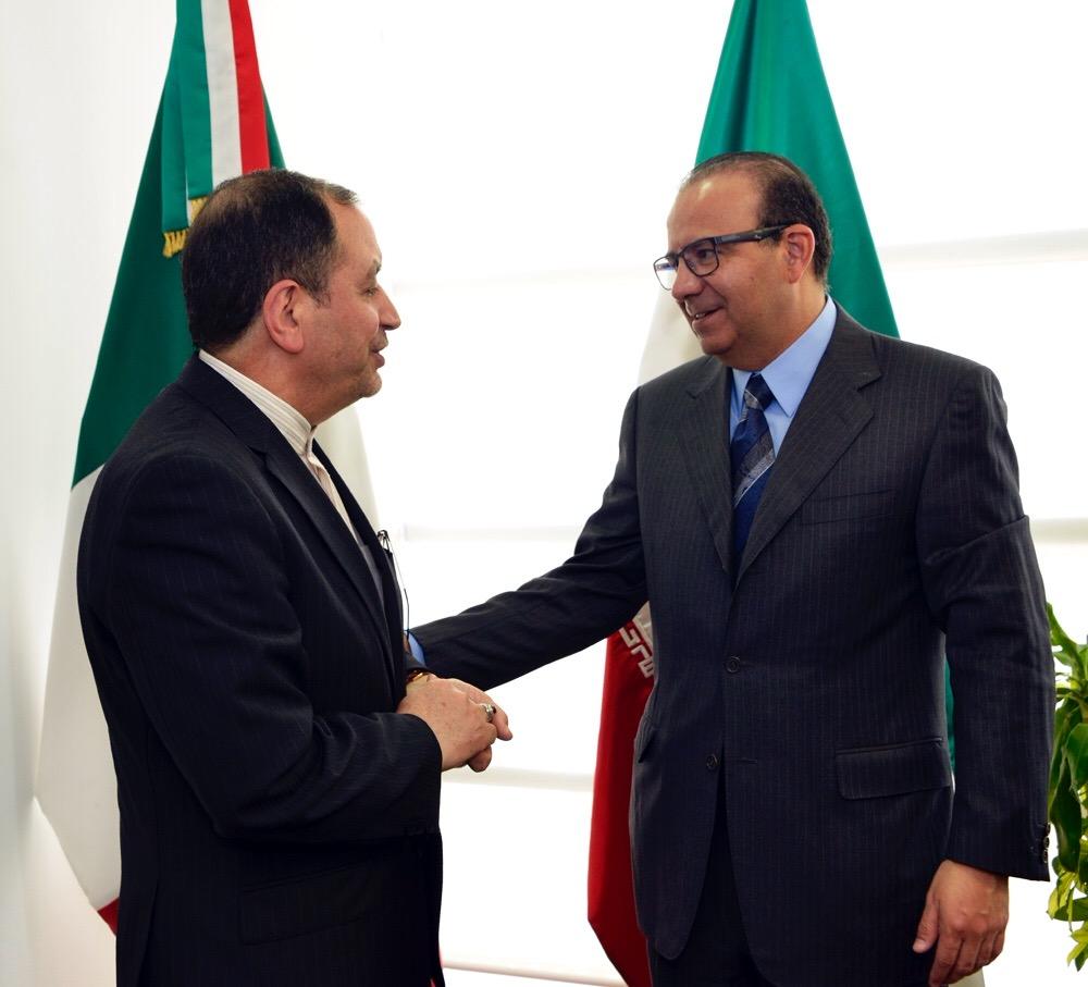Reunion con Embajador de Iran foto 1jpg