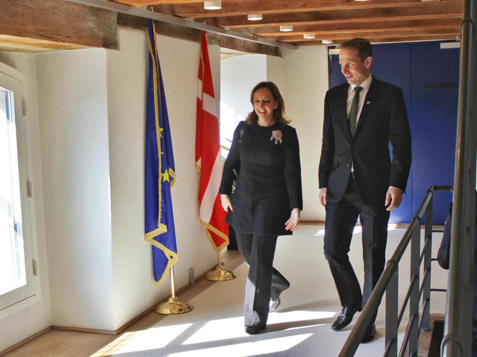 Canciller Claudia Ruiz Massieu con el Ministro Kristian Jensen 2jpg