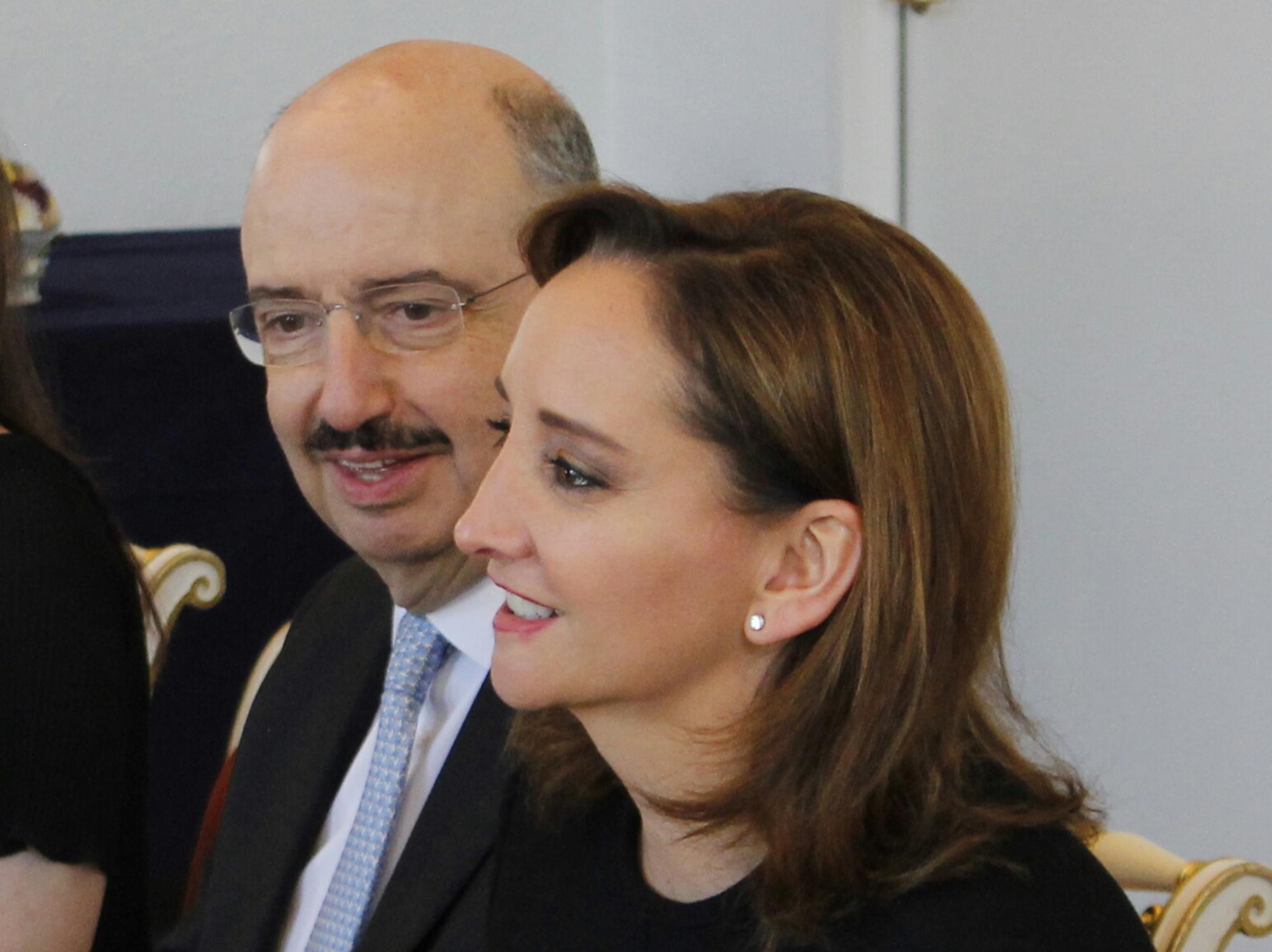 Canciller Claudia Ruiz Massieu en su visita a Dinamarcajpg