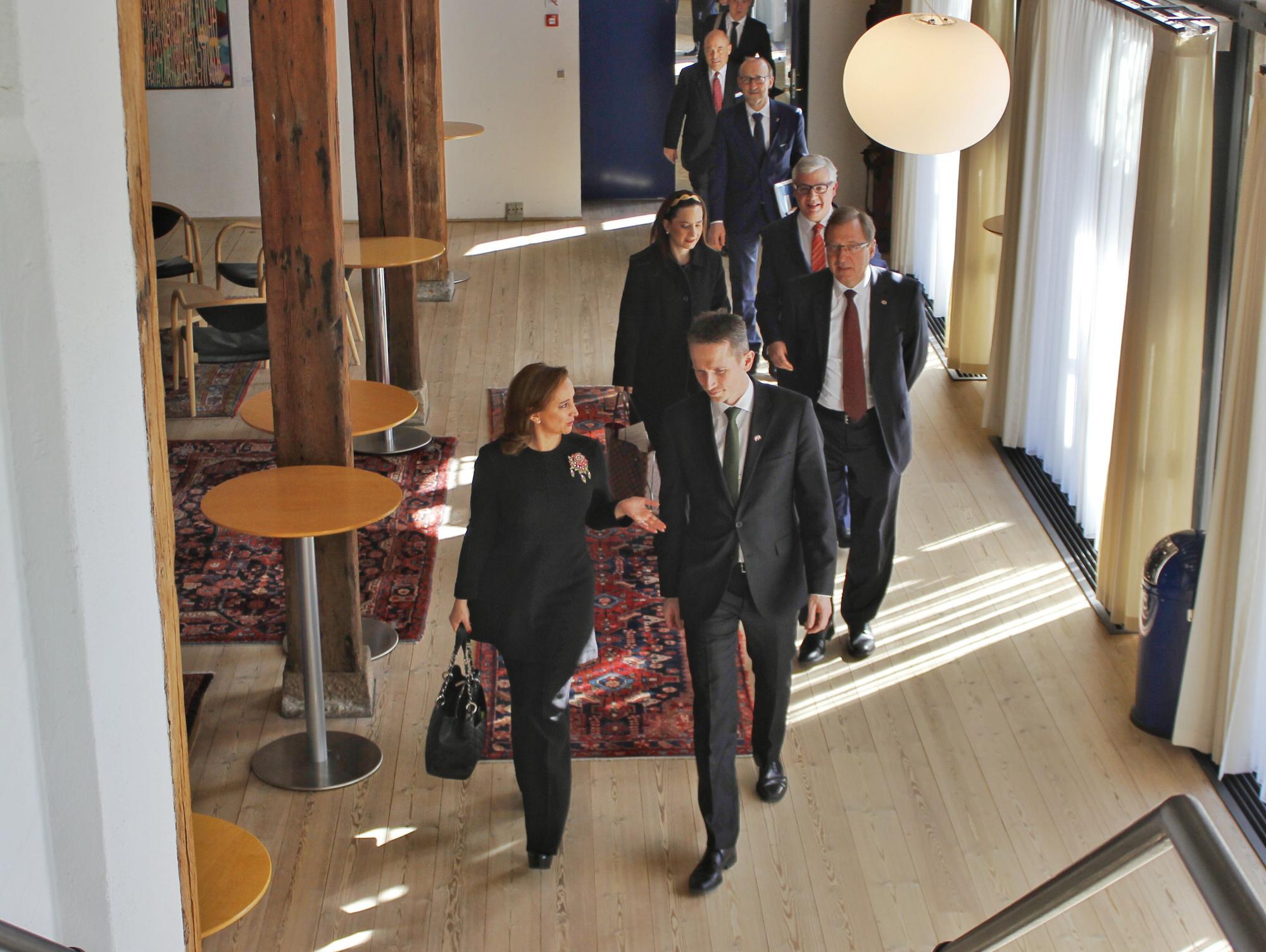 Canciller Claudia Ruiz Massieu con el Ministro Kristian Jensen 3jpg