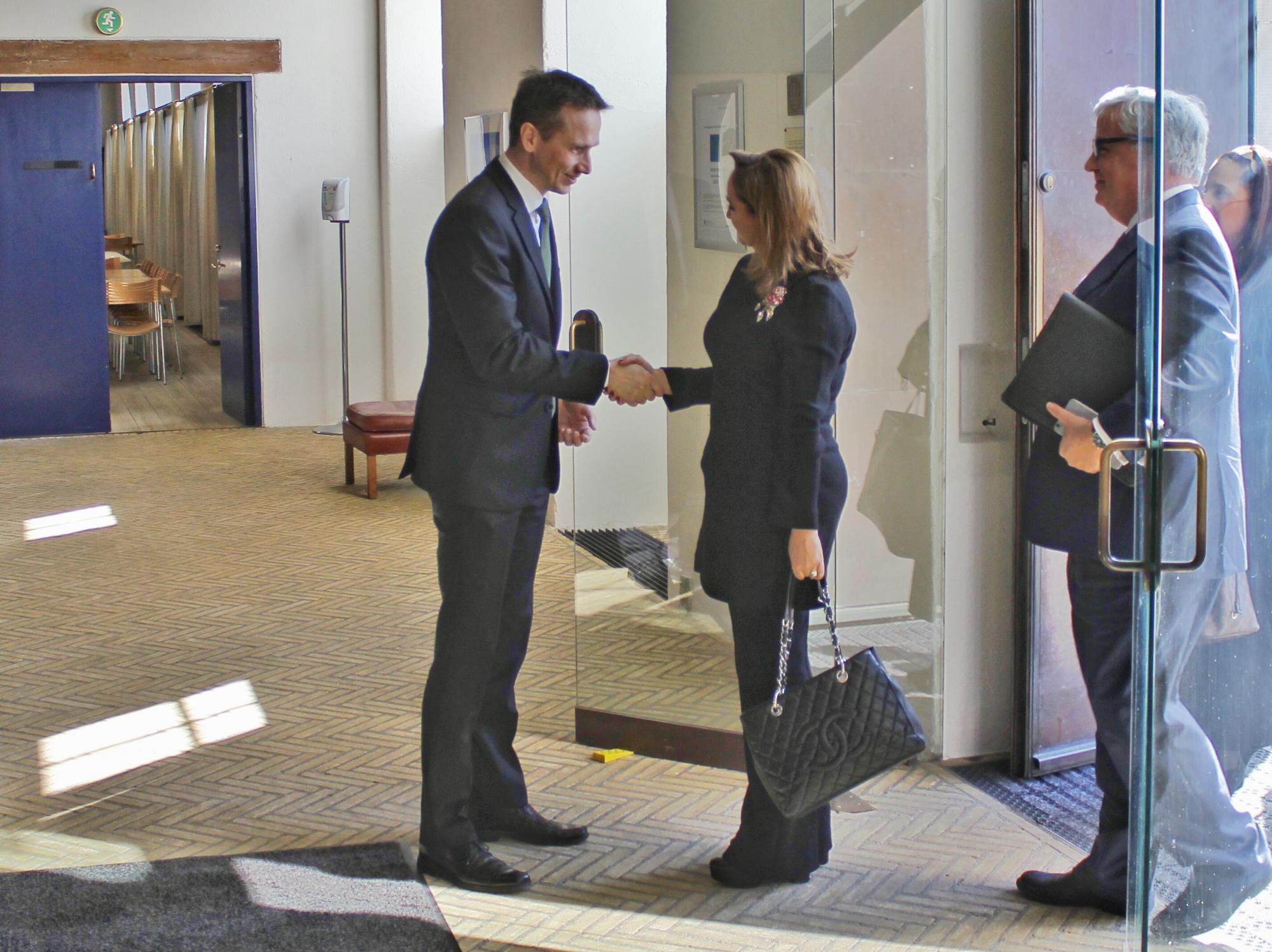 Canciller Claudia Ruiz Massieu con el Ministro Kristian Jensen 1jpg