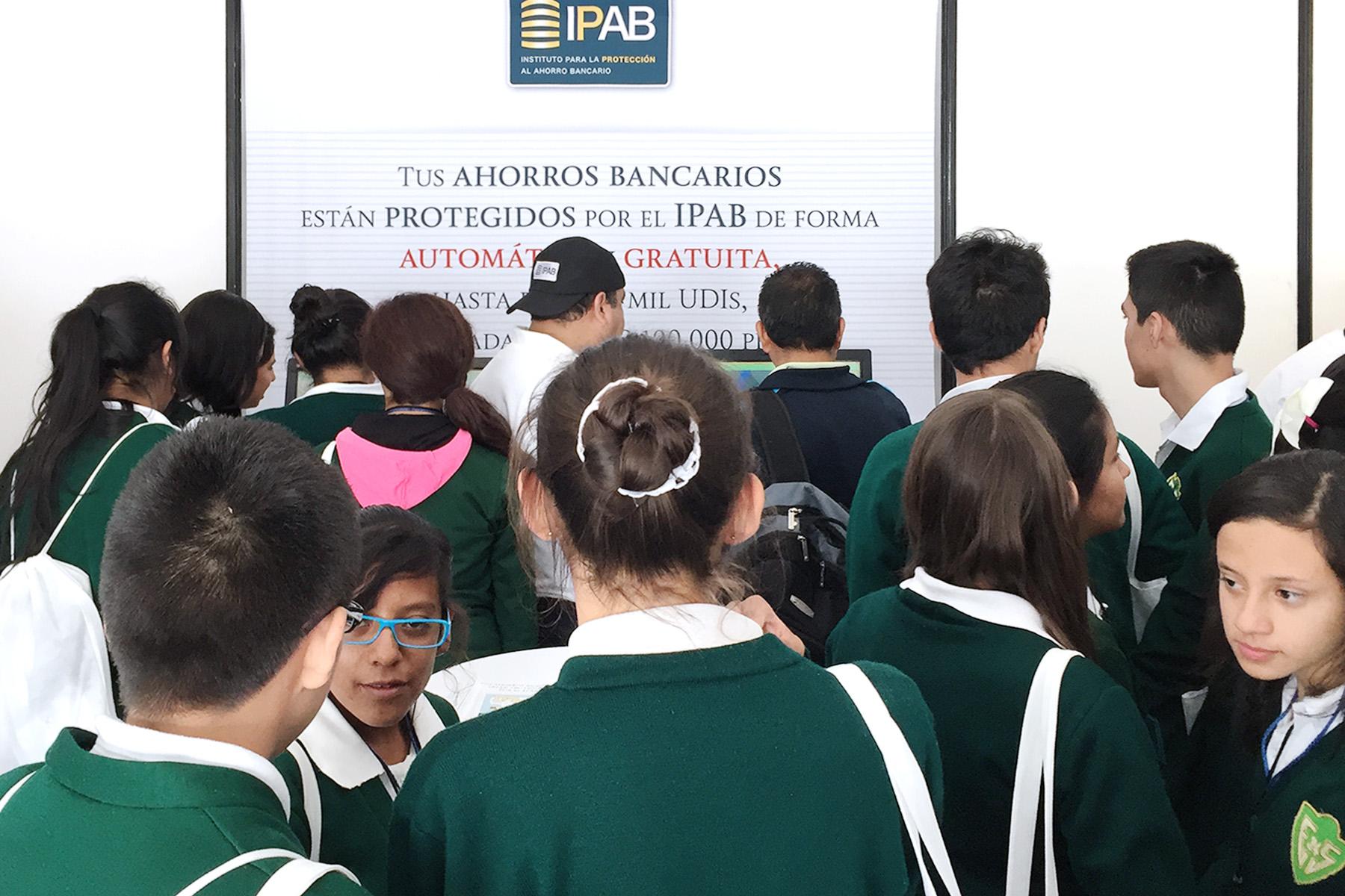 Espacio de Educación Financiera del IPAB. Sede Central, SNEF 2015.
