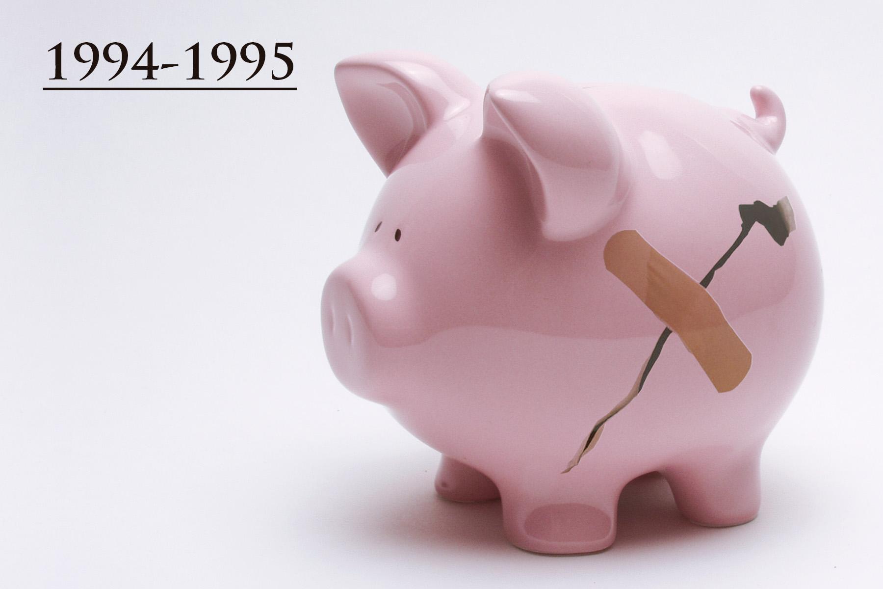 """Derivado de la crisis, era clara la insolvencia de algunos bancos, con una amplia posibilidad de enfrentar una """"corrida bancaria"""" y por ende el colapso del sistema financiero. El Gobierno Federal actuó con rapidez y decisión para evitar un daño mayor, adoptando una serie de medidas de apoyo a la banca y a los deudores, cuya premisa fue la salvaguarda de los ahorros de la sociedad."""