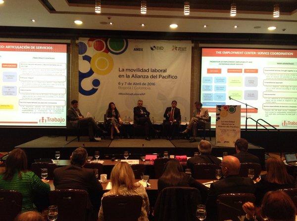 Subsecretaria en Bogota Movilidad Laboral en la Alianza del Pacifico 1jpg