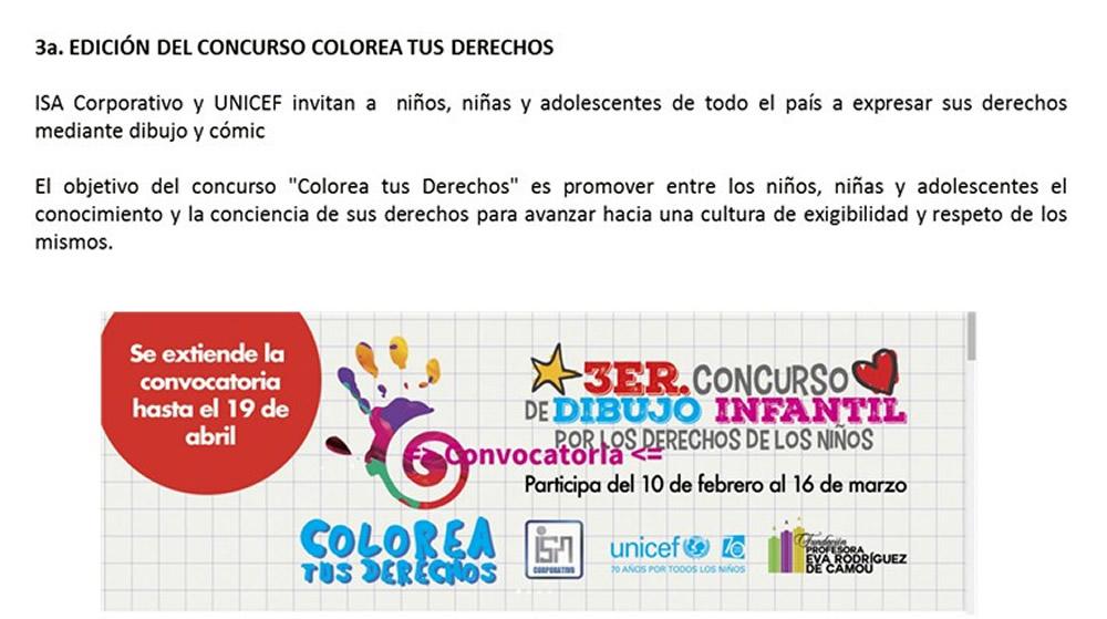 Concurso De Dibujo Para Ninos Colorea Tus Derechos Comision