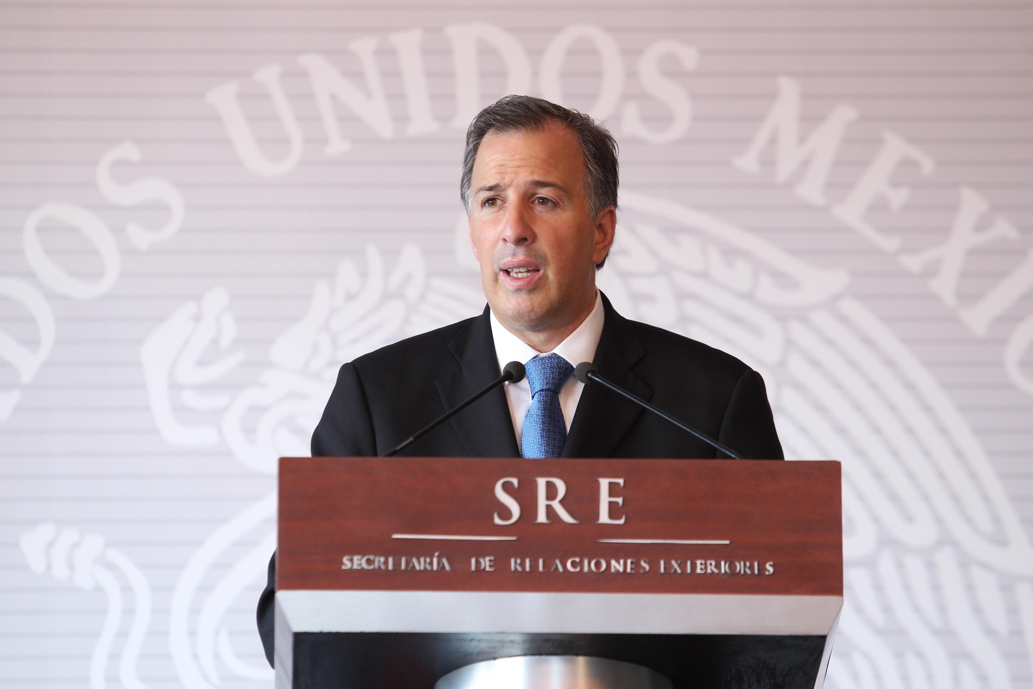 FOTO 2 Conferencia de prensa del canciller Jos  Antonio Meadejpg