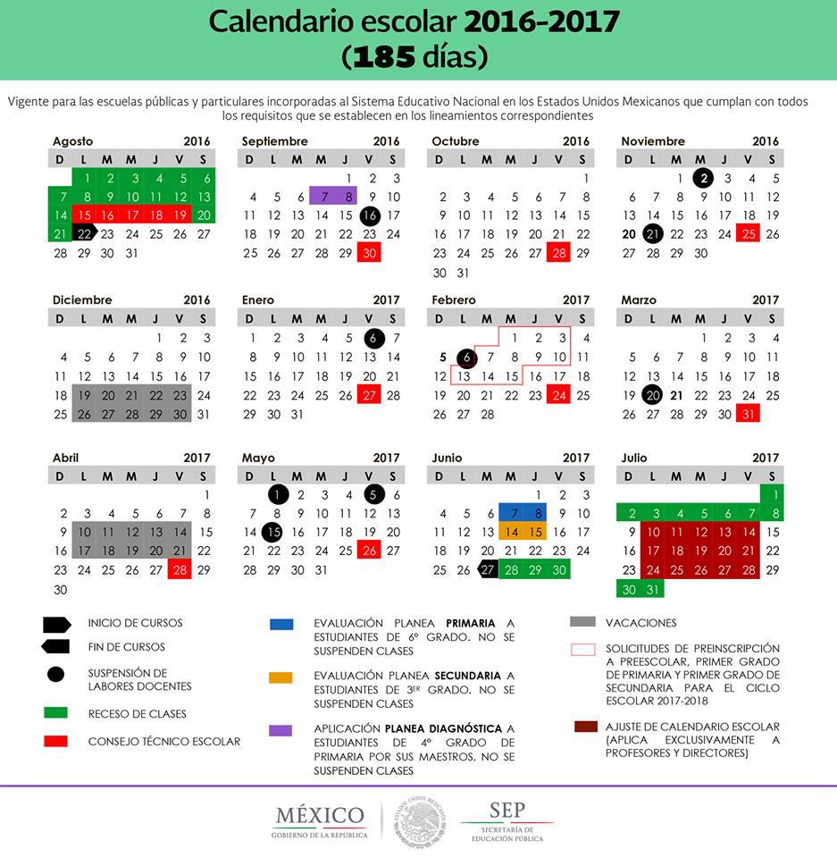 Calendario Escolar Flexible | Secretaría de Educación Pública ...