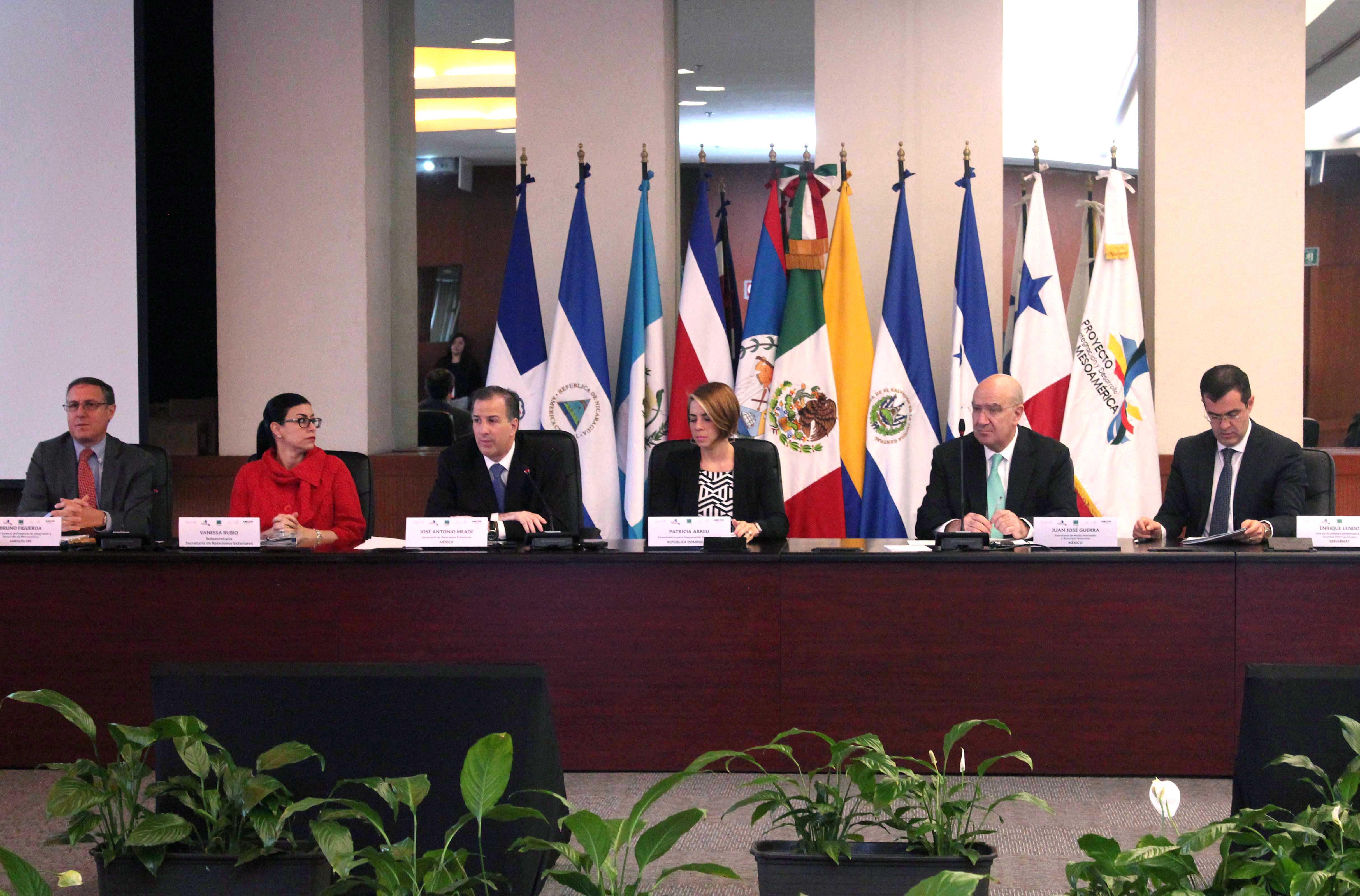 FOTO Canciller Jos  Antonio Meade en la IV Reuni n del Consejo de Ministros de la Estrategia Mesoamericana de Sustentabilidad Ambientaljpg