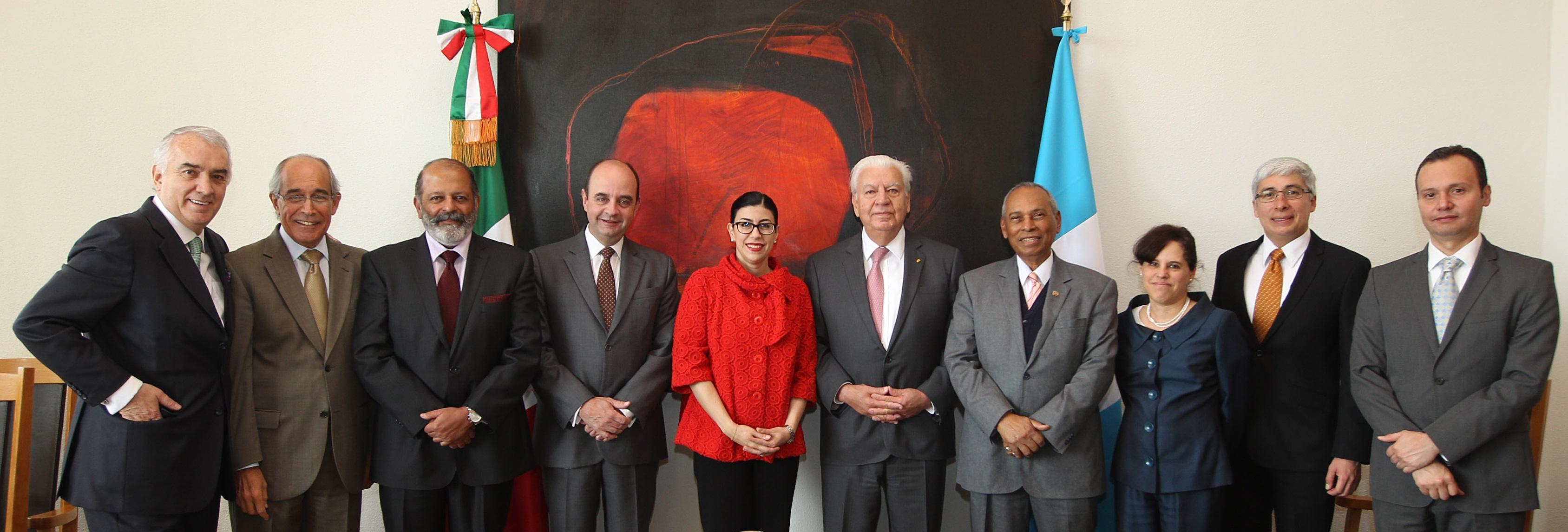 FOTO 2 Subsecretaria Vanessa Rubio con Fernando Andrade D az Dur n  embajador de Guatemala en M xicojpg