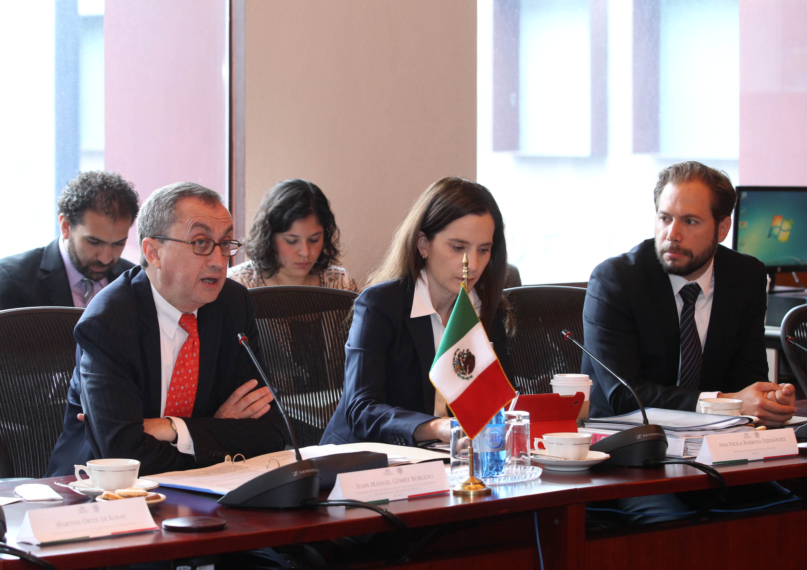 FOTO 2 M xico  Canad  y Estados Unidos celebran consultas trilaterales sobre temas multilateralesjpg