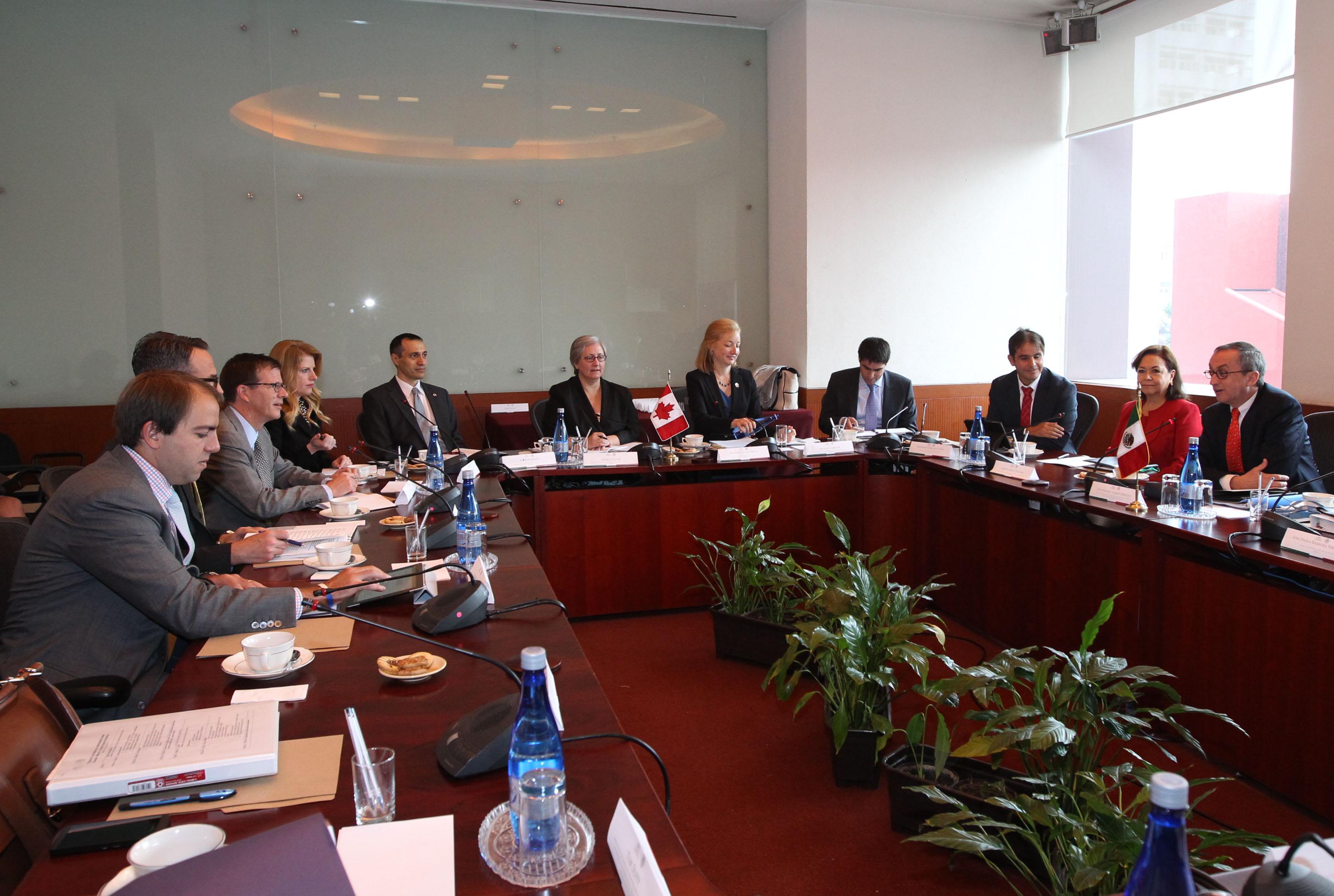 FOTO 1 M xico  Canad  y Estados Unidos celebran consultas trilaterales sobre temas multilateralesjpg