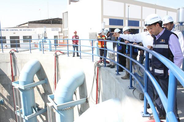 El Doctor David Korenfeld visita el Túnel Emisor Oriente e instruye que se aceleren los trabajos para terminarlo en 2016: Conagua.