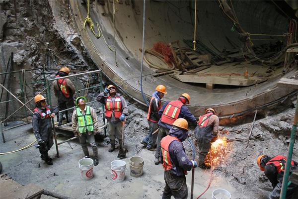 El Túnel Emisor Oriente tiene 27% de avance en excavación y 9%, en el revestimiento: Conagua.