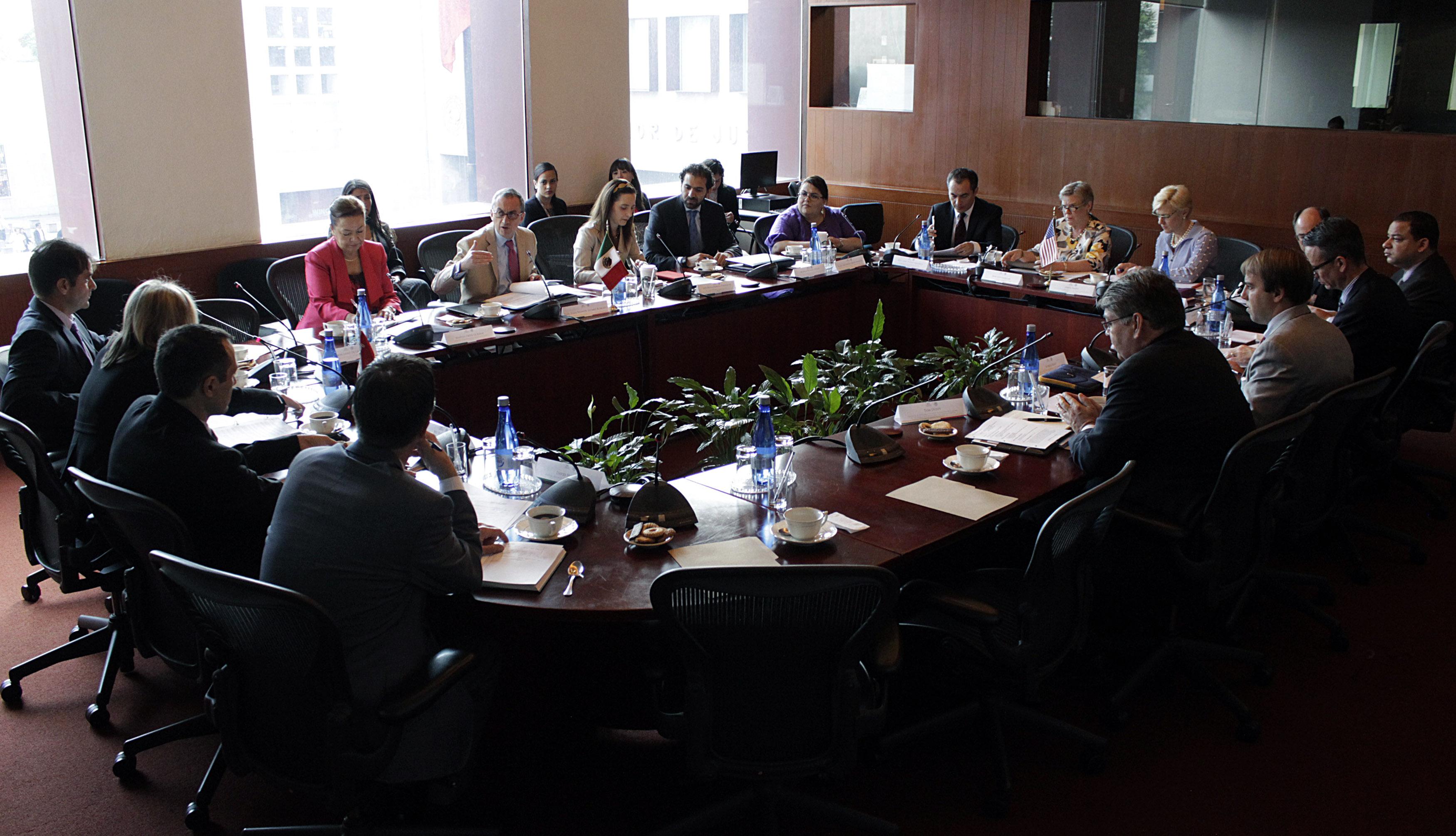 FOTO 2 Concluye consulta trilateral entre M xico  Canad  y Estados Unidosjpg