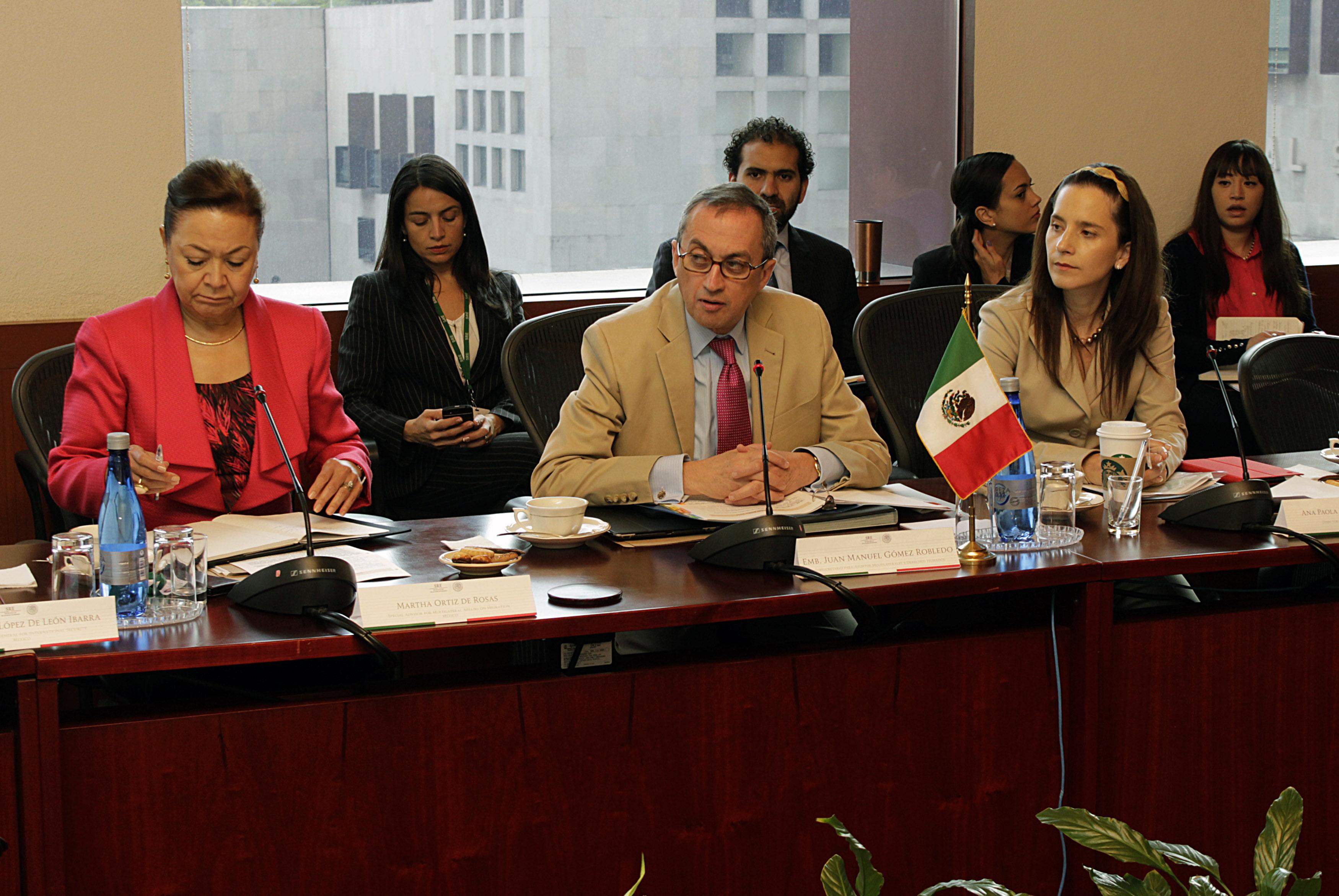 FOTO 1 Concluye consulta trilateral entre M xico  Canad  y Estados Unidosjpg
