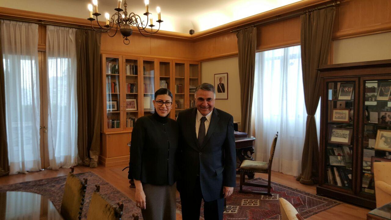 Foto 2 La subsecretaria Vanessa Rubio M rquez y el subsecretario de Relaciones Exteriores  Edgardo Riveros Mar njpg