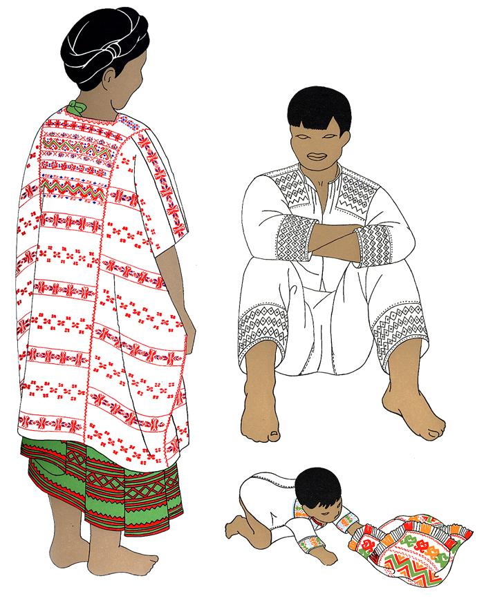 Amuzgos de Guerrero (El traje tradicional indígena)   Comisión ...