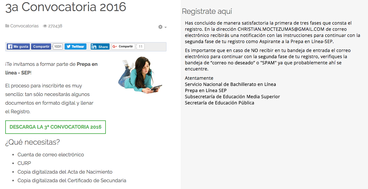 Cómo me inscribo a #PrepaEnLínea? | Secretaría de Educación Pública ...