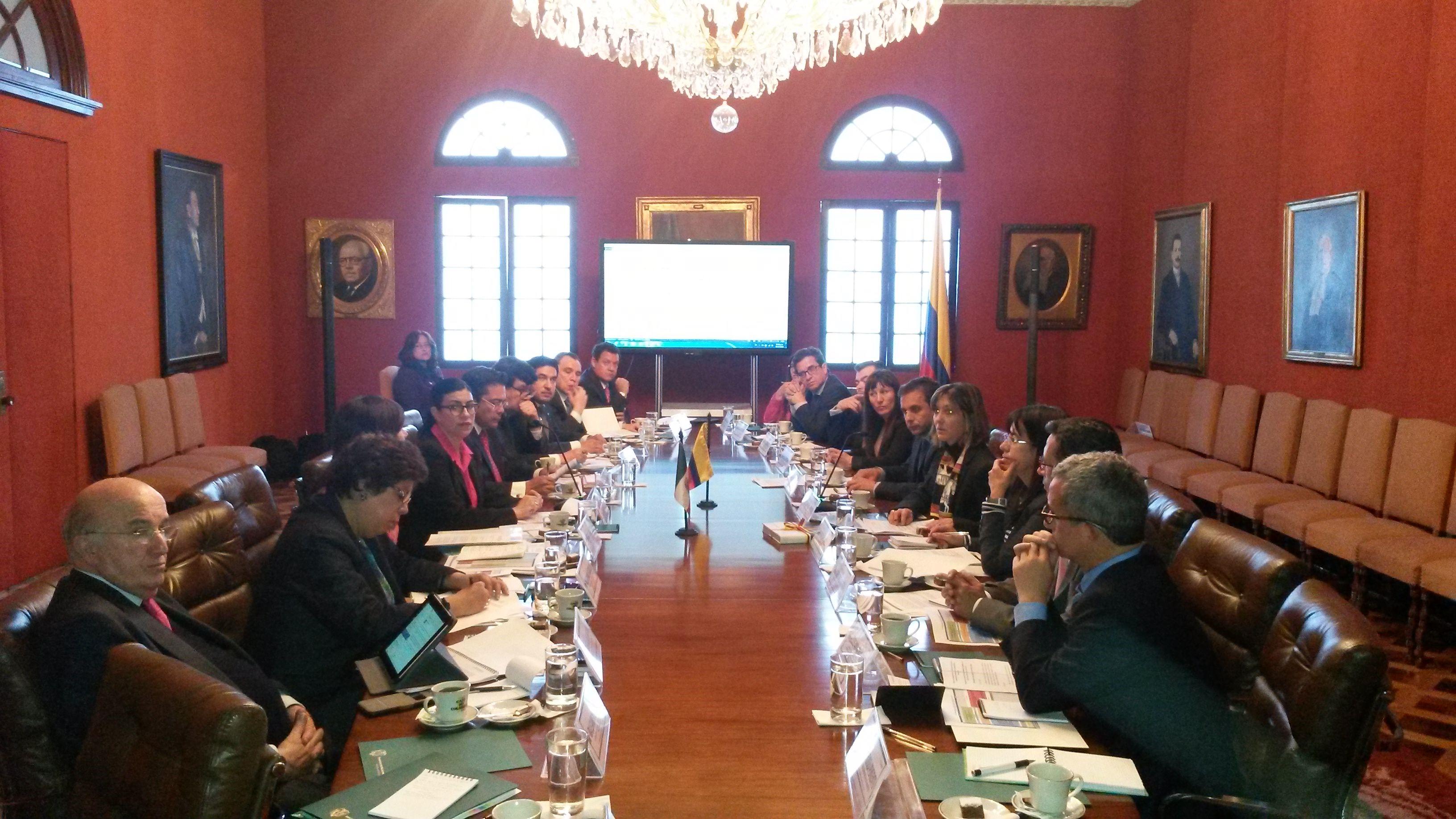FOTO  Subsecretaria Vanessa Rubio realiz  visita a Colombiajpg