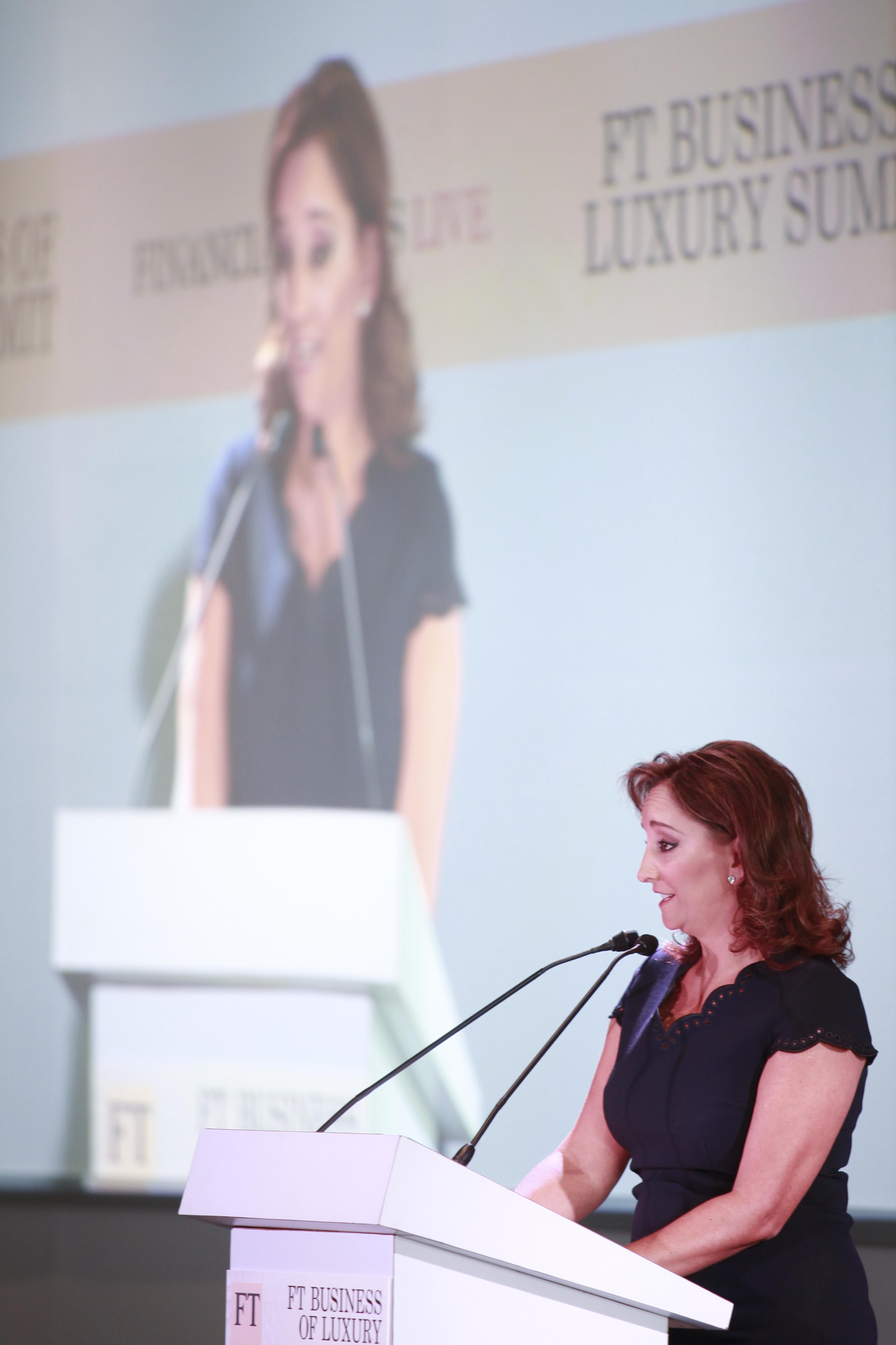 Claudia ruiz massieu ponencia business luxury summit