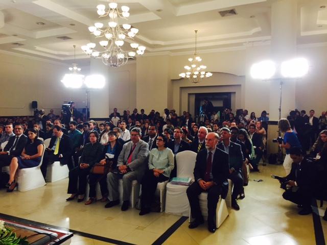 FOTO 2 Subsecretaria Vanessa Rubio particip  en el IV Foro de J venes de las Am ricas  en Panam jpg