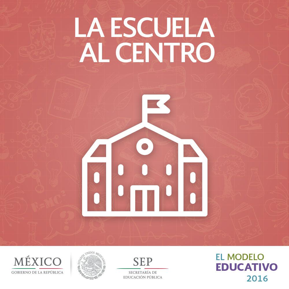 La Escuela Al Centro ModeloEducativo2016 Secretara De