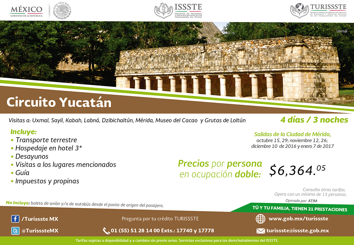 Circuito Yucatan : Circuito yucatan chiapas yucatán cancún temple