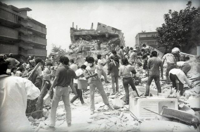 AGNRecuerda el sismo de 1985, vía La Jornada   Archivo General de la Nación    Gobierno   gob.mx