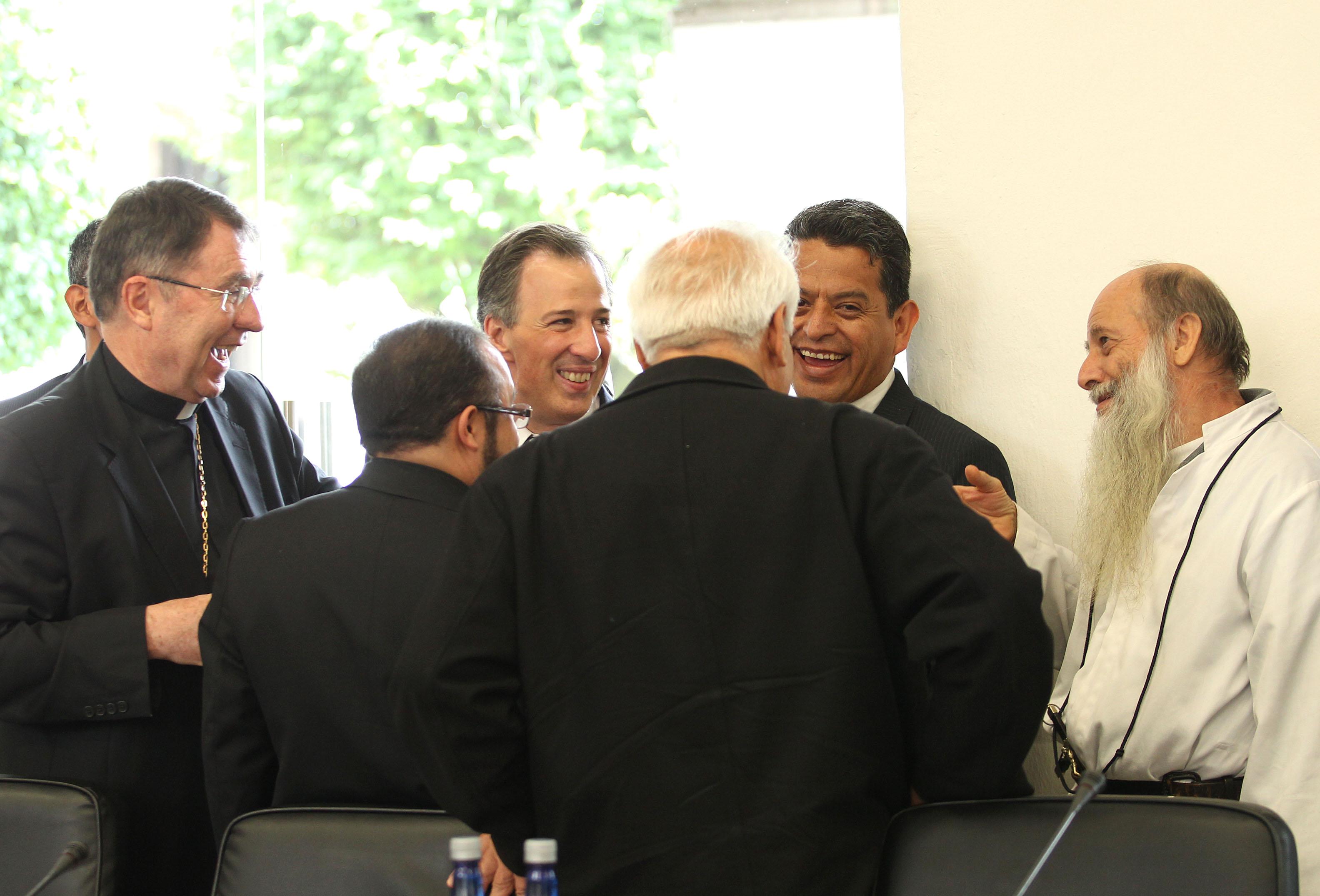 FOTO 1 Reuni n con integrantes de la Conferencia del Episcopado Mexicanojpg