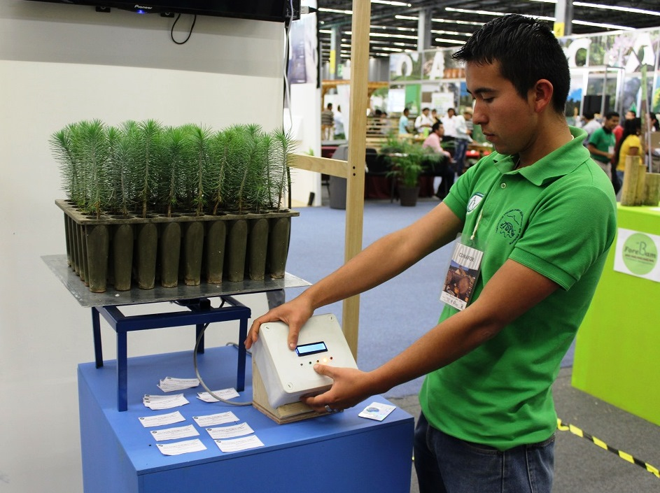 Desarrolla estudiante un sistema de ahorro de agua para for Proyecto vivero forestal pdf